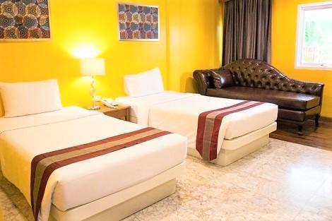 プーケット:バウマンブリ リゾート&スパ 客室一例