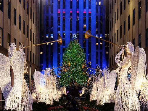 ニューヨーク クリスマスイルミネーション(イメージ)