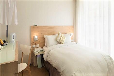 台北:ダンディ ホテル 天津店 客室一例