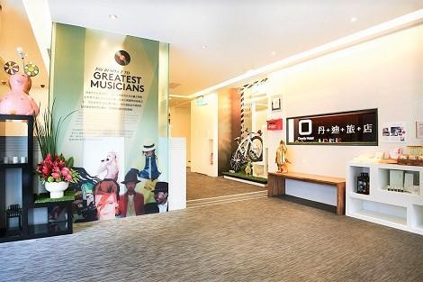 台北:ダンディ ホテル 天津店 ロビー