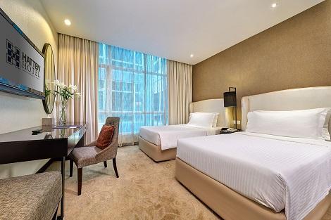 マラッカ:ハッテン ホテル マラッカ 客室一例
