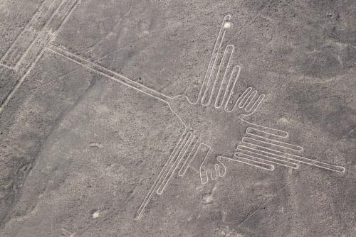 未だ解き明かされることのない巨大なミステリー『ナスカの地上絵』(イメージ)