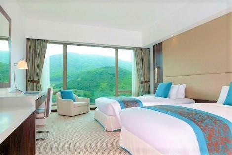 香港;オーベルジュ ディスカバリー ベイ 香港 客室一例