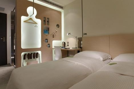 台北:ジャスト スリープ 林森館 客室一例