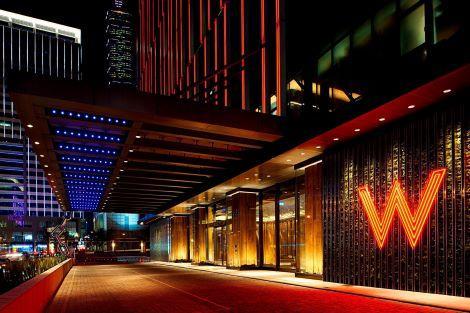 台北:Wホテル台北 外観