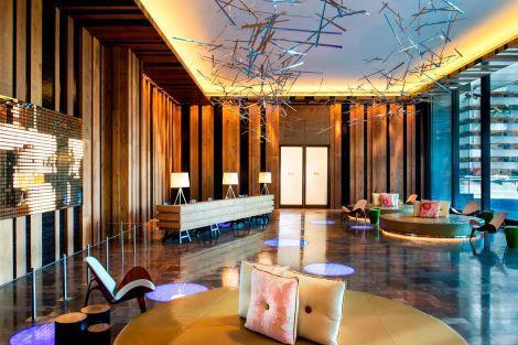 台北:Wホテル台北 ロビー