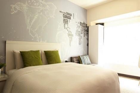 台北:ヴィア ホテル ロフト 客室一例