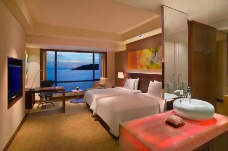 ハイアットリージェンシー キナバル 客室一例