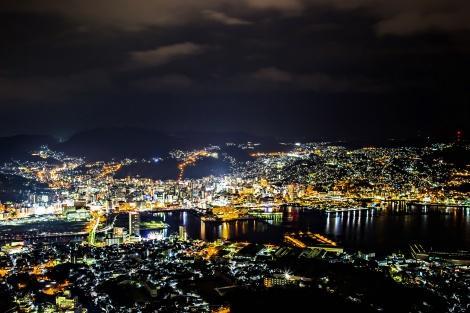 ◇新世界三大夜景にも選ばれた、長崎の夜景(稲佐山より)