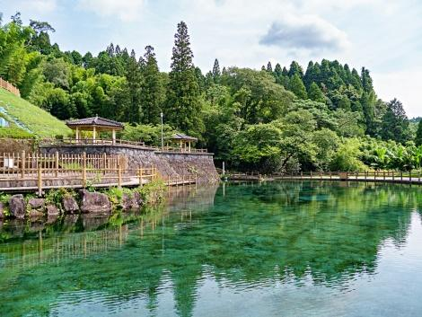 ◇霧島:丸池湧水