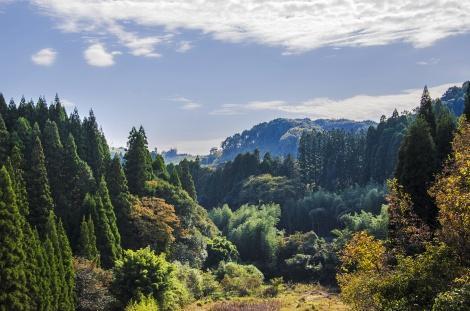 ◇霧島温泉は、深い山間に位置します♪