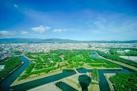 函館:五稜郭公園