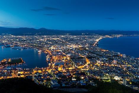 函館:函館山からの夜景