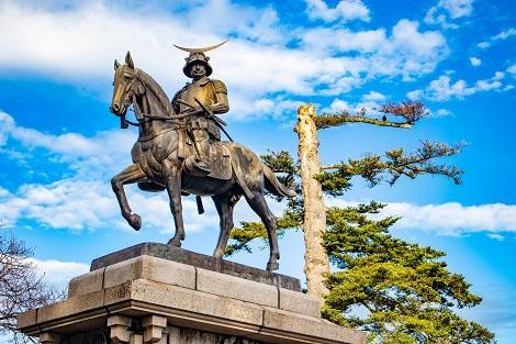 仙台:伊達政宗像