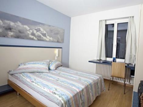 チューリッヒ:ブリストル ホテル 客室一例