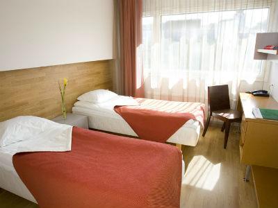 タリン:ゴー ホテル シュネリ 客室一例