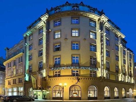 プラハ:グランド ホテル ボヘミア 外観
