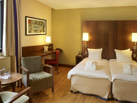 ブリュッセル:ヒルトン ブリュッセル シティ ホテル 客室一例