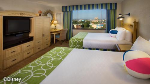 ディズニー・パラダイス・ピア・ホテル プレミアム・ビューの客室(一例)