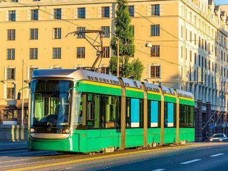 ◇◎ヘルシンキ:街を走るトラム