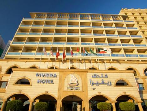 ドバイ:ホテル リビエラ 外観