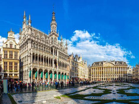 ◇◎ブリュッセル:市庁舎