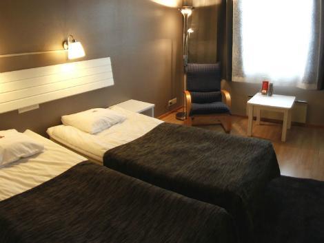 サーリセルカ:サンタズ ホテル トゥントゥリ 客室一例