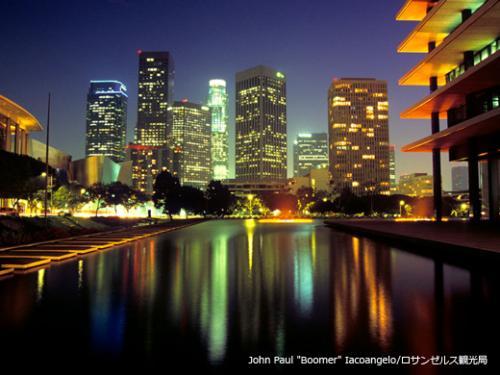 ロサンゼルスの夜景(イメージ)