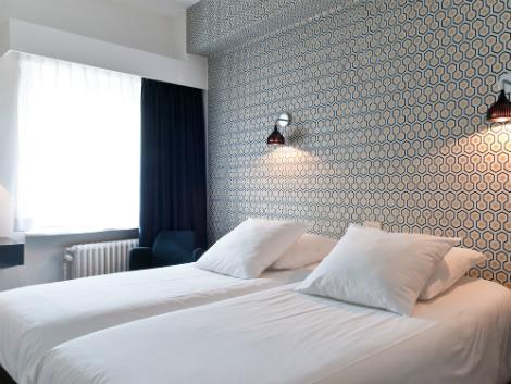 ブリュッセル:クイーン アン ホテル 客室一例
