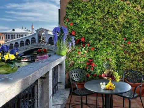 ベネチア:ホテル リアルト テラス