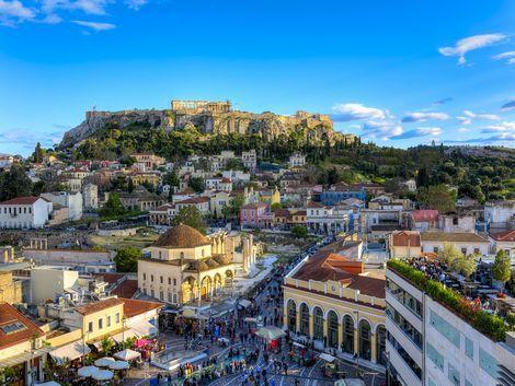 ◇◎アテネ:街並み