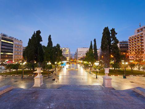 ◇◎アテネ:シンタグマ広場