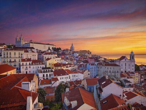 ◇◎リスボン:夕暮れの風景