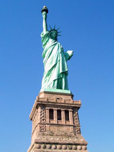 ニューヨークの象徴、自由の女神!