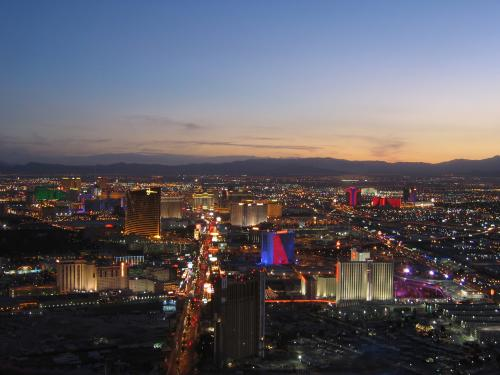ラスベガスの風景(イメージ)
