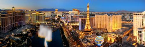 ラスベガスの美しい夜景(イメージ) ©Las Vegas News Bureau