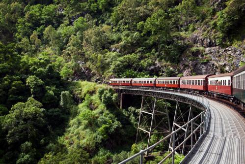 キュランダ高原列車 ©Masaru Kitano snaK Productions, Tourism Australia