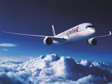 羽田線は7月から最新鋭機材A350が就航/カタール航空