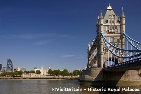 ◇ロンドン:テムズ川とタワーブリッジ