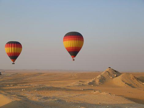◇◎ドバイ:砂漠と気球
