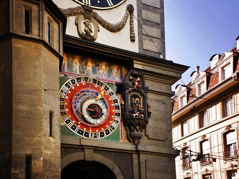 ◇◎ベルン:旧市街にある時計塔