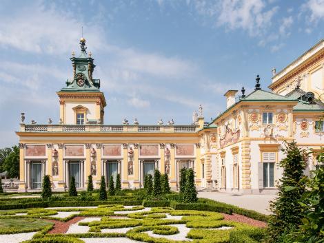 ◇◎ワルシャワ:ヴィラヌフ宮殿