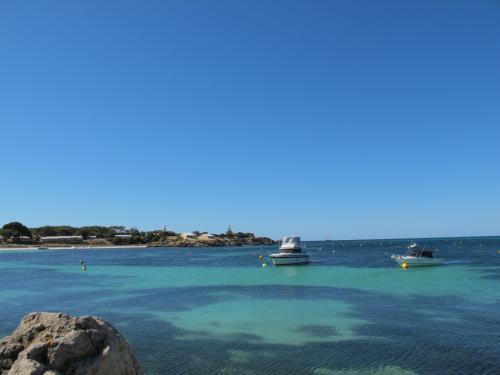 オーストラリアの穏やかな海(パース)
