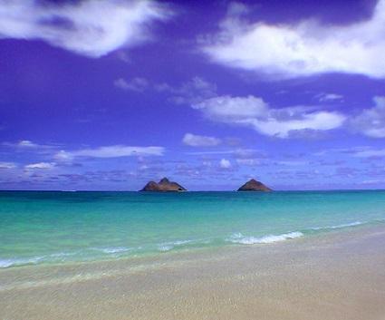 オアフ島:ベストビーチランキングの常連、美しいラニカイビーチ