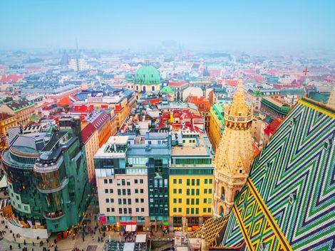 ◇ウィーン:カラフルな街並み