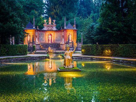 ◇◎ザルツブルク:ヘルブルン宮殿