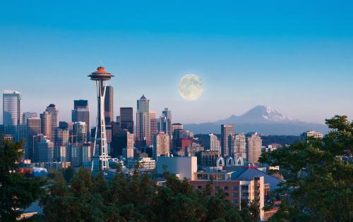 シアトル 風景