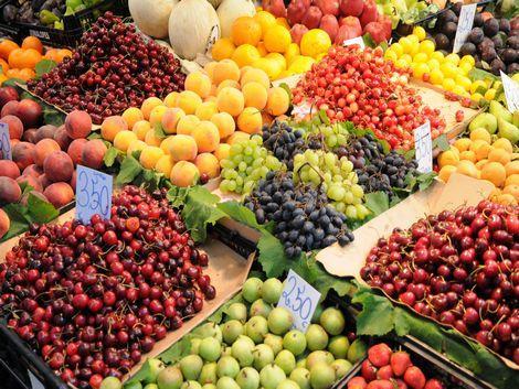◇◎ポルト:市場のフルーツ