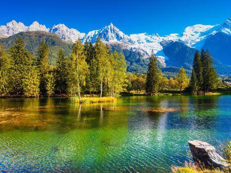 ◇◎シャモニー:美しい湖