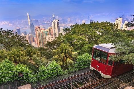 香港:ピークトラム